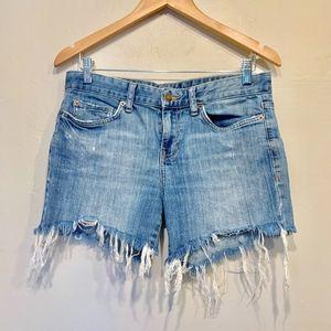 Calvin Klein Jeans Blue Denim Jean Cutoffs